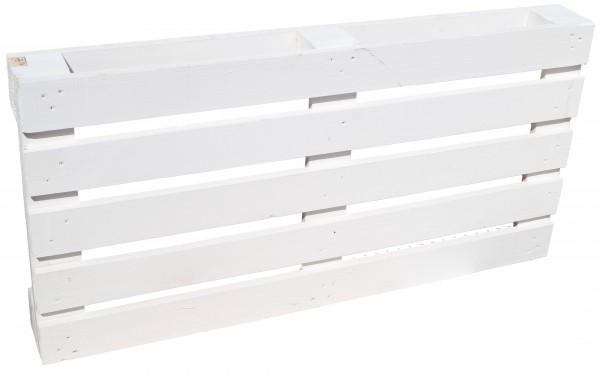 Palette 120 x 60 x 13 cm - weiß