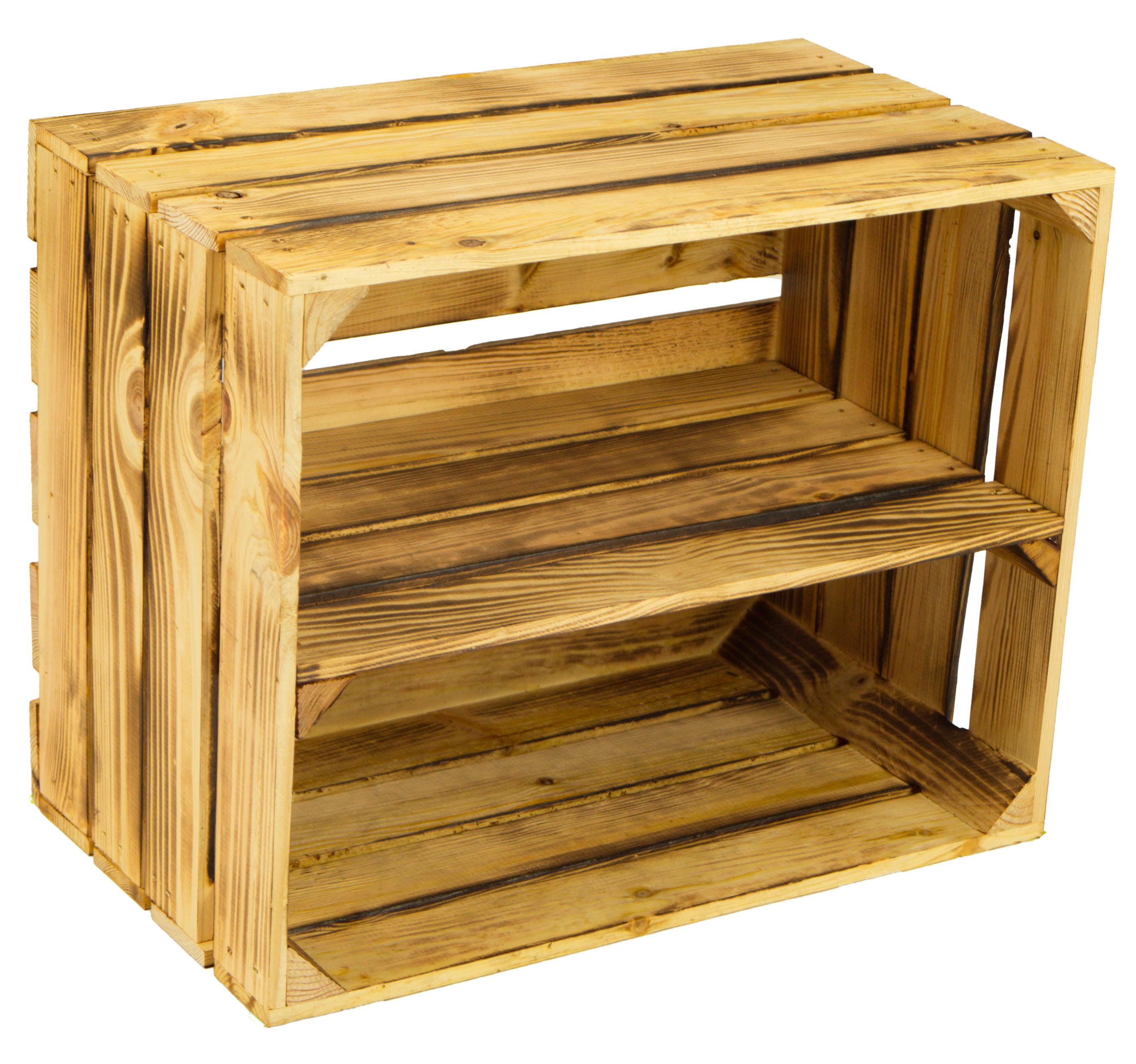 sch nes schuhregal aus weinkisten im landhaus stil weinkisten obstkisten kaufen bei. Black Bedroom Furniture Sets. Home Design Ideas